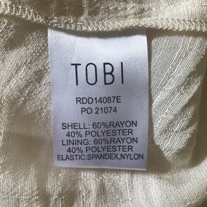 3ee4467f3d0 Tobi Dresses - Tobi Cream Marseille Skater Dress